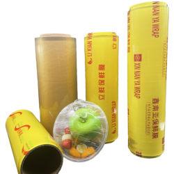 PVC 뻗기를 플라스틱 PVC 필름 감싸는 음식 급료는 필름 수축 포장 엄청나게 큰 롤 달라붙는다