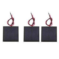 4V 5V 5,5 V Panel solar con 30cm 100cm 200cm Cable Mini Panel Solar