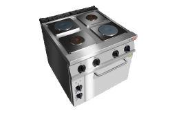 Elektroherd-Ofen mit Ofen u. elektrischem heiße Platten-Ofen