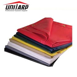 Il PVC 100% del tessuto del poliestere della prova di fuoco 840d*840d ha ricoperto Tarps per il coperchio del fieno