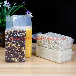 Vacío de la bolsa de plástico envases sellados para el Arroz Carnes Frutas Hortalizas