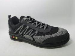 De sportieve Schoen van de Veiligheid van de Schoen met de Teen van het Staal en Extra Licht Materiaal
