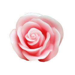 Artesanales velas flotantes con forma de rosa rosa flor velas aromáticas para la boda, fiesta, la decoración del hogar