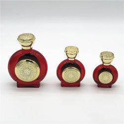 Factory Venta caliente 30ml50ML100ml Perfume fragancia colorido Frasco de vidrio con tapa de plástico