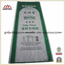 China fêz o saco do empacotamento da farinha tecida PP plástica/arroz/trigo