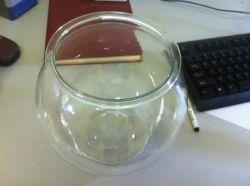 Pecera de plástico PET (WH005)