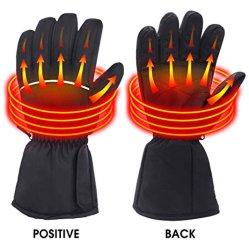 guanti Heated elettrici della batteria ricaricabile 7.4V