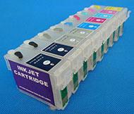 Заполните картридж с чипом для Epson R3000