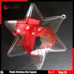 Пластиковые капсулы Star четкие формы прозрачный