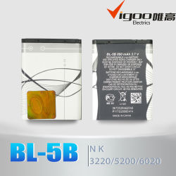 Hot Selling LH ion Battery Bl-5b for Nokia