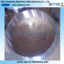 Maquinaria de minería de la elaboración de metales parte mecanizada con anillo de acero al carbono o inoxidable