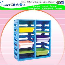 Meubles de haute qualité pour les enfants préscolaires pour la vente de rangement en plastique (HB-04002)