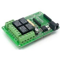 4 Module de relais de canal mécanique Shield Arduino compatibles
