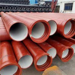 En598 DN100-DN1400 ковких чугунных трубопроводов Dci трубы для канализации
