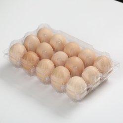 Оптовая торговля высокого качества ПЭТ пластиковый лоток на яйца в блистерной упаковке
