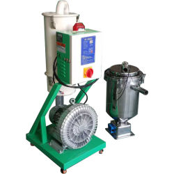 Industrielles Einspritzung-Vakuumplastikselbstzufuhrbehälter-Ladevorrichtung für Extruder