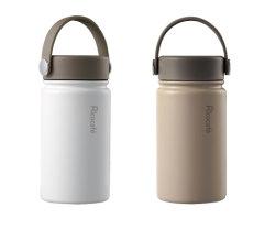 Tasse vide en acier inoxydable avec revêtement en céramique à l'intérieur