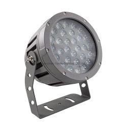 Prédio do Holofote LED de exterior Lightingip Projeção65 LED impermeável de alta luz do projeto para a fachada de Publicidade Park