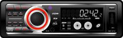 CD, écran LCD et horloge numérique du lecteur MP3