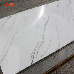 12 mm padrão texturizados de pedra de acrílico Superfície sólida do painel de parede