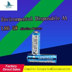Lbw trockene Batterie-alkalische Batterie-super alkalische Batterie AA 1.5V Am3 Lr6 Nr. 5 Fernsteuerungs-/Alarmuhr /Calculator/Mouse
