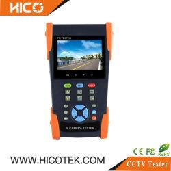 Novo 4 polegadas Ahd IP Cvi Tvi CVBS câmara analógica de 4K CCTV Monitor Testador portátil de mão