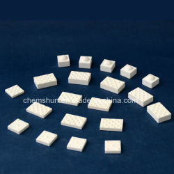L'alumine à la traîne de la poulie de tuiles de céramique comme Mateials résistant à l'abrasion