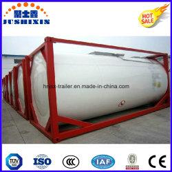 20ft 炭素鋼タンク ISO 標準原油タンクコンテナ
