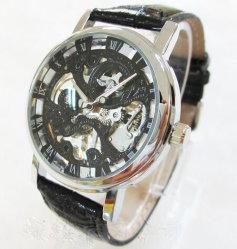해골 기계적인 시계 싸게 기계적인 시계 도매