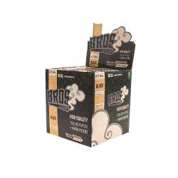 Documento di rotolamento nero di vendita caldo del re Size di marca di Brzail Bros con il filtro personalizzato