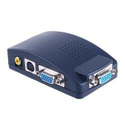 PCVGA zu Fernsehapparathandels Composite RCA S-Video Converter