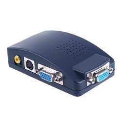 VGA ПК к телевизору AV композитный RCA S-Video Converter