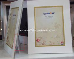 Papierfeld Ein Opening Mat mit Backing Board Beveled Cut Frame Mat