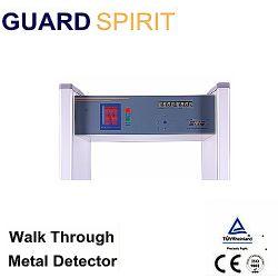Barriera di sicurezza del metal detector di protezione di parola d'accesso di 6 zone con l'allarme sano