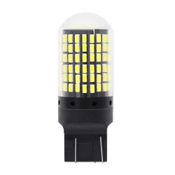 T20 7440 W21Вт Светодиодные лампы 3014 144 светодиод для поверхностного монтажа Canbus нет ошибок 1156 ba15s P21W светодиодный светильник для поворота без вспышки стояночный фонарь