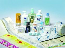 Diariamente los productos químicos de la etiqueta autoadhesiva