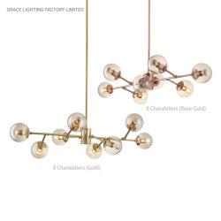 内部の創造的なデザイン現代シャンデリア(GD-2005-8)