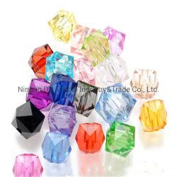 Vendre à chaud de haute qualité deux trous de l'acrylique Perles à coudre les boutons pour accessoires du vêtement
