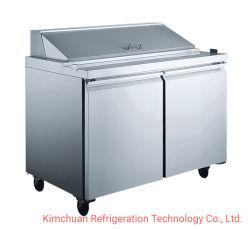 Edelstahl Salatbar Luftkühlung Kältemaschine Kühlraum Kühlung Ausrüstung
