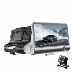 ループ記録、Gセンサーで構築される3枚のレンズの手段のカメラ