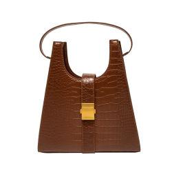 Qualidade superior de couro Vegan Mulheres Sacos Hobo Moda Fábrica Directo Guangzhou