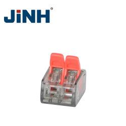 2/3/5 P Fast pousser dans les bornes de connecteur de fil de niveau de ressort