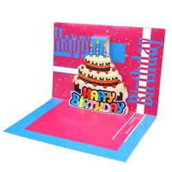 بطاقات تهنئة لتسجيل الصوت لصوت 3D Pop Up Happy بطاقة عيد ميلاد مع بطاقة تهنئة موسيقى