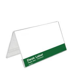 منتجات أكريليك plexkillass مخصصة بطاقة مقعد الضيف