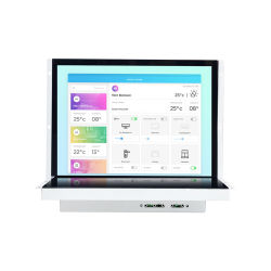 21.5인치 산업용 터치 스크린 오픈 프레임 LCD 모니터 12V DC 전원