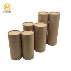 食糧のために包む卸し売り環境に優しいカスタムクラフトのボール紙シリンダーペーパー管