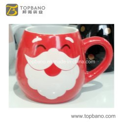 La Chine 12oz 14oz réutilisables de grès en céramique du Père Noël Boissons Lait Mug tasse de café