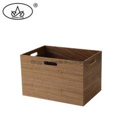 Grosser Größen-Vierecks-Holz MDF handhabt Kind-Spielwaren-Speicher-Küche-Kasten