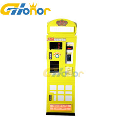Indoor Playground Smart Coin ATM Arcade Wissel munt machine Smart Automatische uitwisseling munt machine uitwisseling Spel valuta geld wisselen machine