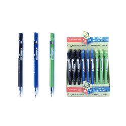 حبر أسود/أزرق/أخضر منخفض التكلفة 2 مم 2 ب قلم رصاص ميكانيكي